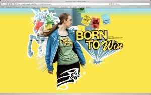 Born to Win Website by wingless730