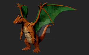 Charizard by Wolfhooligans