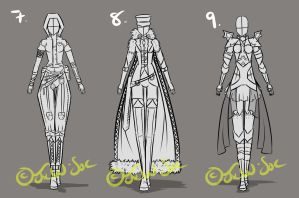 Full Clothing Design 7,8,9 [CLOSED] by JxW-SpiralofChaos