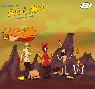 Agony Game by WorldsandCenturies