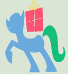MLP Base - Minimalistic gift box carrier by Tech-Kitten