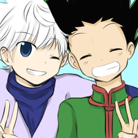 HxH - Best Friends by OrangeCornPuff