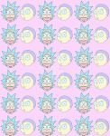 F2U Rick and Morty Pastel background by Championx91