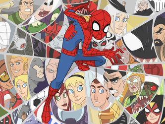 The Amazing Spider-Man by thelivingmachine02