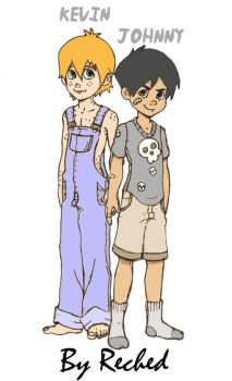 Kevin And Johnny by Reched