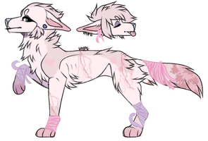 Breast Cancer Awareness Adopt ~Closed~ by LuneLune-the-wolf