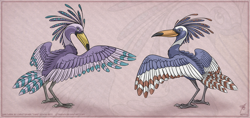 OviPets Avi Species by thazumi