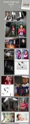 Portrait Lighting set-up 1 by sul6anet