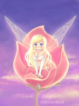Rose Fairy by DestinyBlue