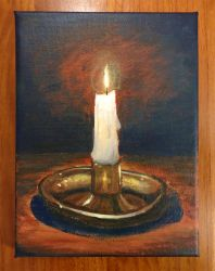 Candle light by Hupie