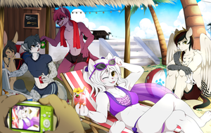 JUN Reward - Summer Time by mr-tiaa