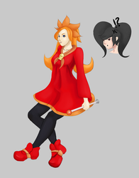 Mona/Ashley Costume Swap | WarioWare | Request by ColorCodedShadow
