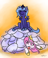 ATG3 Day27 - Queen of the hill by BenjiK