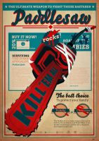 Dead Rising - Paddlesaw Poster by yolkia