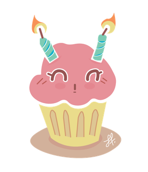 Chibi Cake by Sharriss