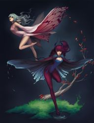 of Moth and Butterfly by Unodu
