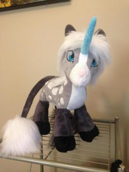 Caravelle custom plush WIP by Leah-Tribal