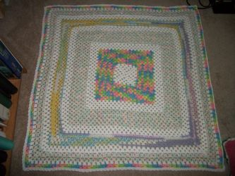 my frist baby blanket FINISHED by angelbaby88