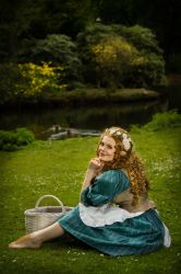 Pimpernel Took [The Hobbit Own Character] by FaerieBlossom