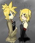 The Kagamine Twins- Death Note by The-Pocket-Llama