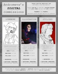 Digital Commissions [OPEN] by Andromeva