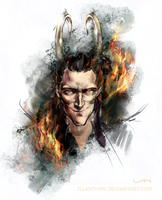 God of Fire by ILLanthan