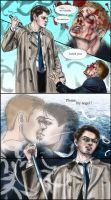 Supernatural S8.17 Destiel fanfic :I need you by noji1203