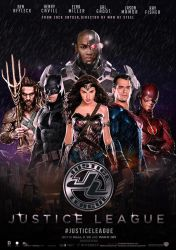 Justice League 2017 Concept Movie Poster by MegoMagdy15
