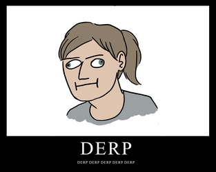 DERPDERPDERP by SuperPineapple