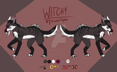 Witchy Reference Sheet by SummerSpaniel