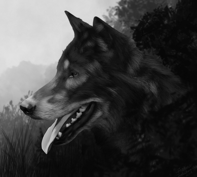 Colorless World- realistic attempt one by Alikrea
