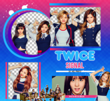 TWICE//SIGNAL PACKPNG #1 by MoonSober