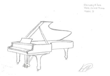 Steinway Piano Concert Grand by Starshadow108