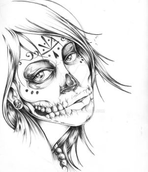 muerto girl by Kennington