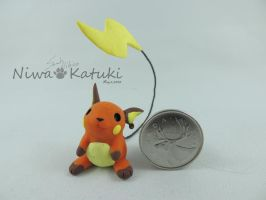 Pokemon - Raichu by Niwa-Katuki