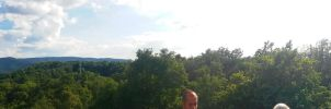 Visegrad Julian Lookout 360 Panorama by GamesHarder