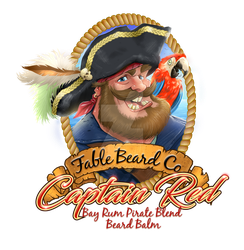 Fable Beard Balm Captain Red Layer by jeffzombie37