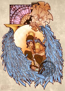 PE Art Nouveau Exchange: Sadie by rillystar