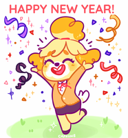 HAPPY 2018! by Cafhune