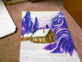 Cabin in the Woods by XxFyrnxX