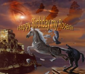 Happy Birthday Roser by anubis
