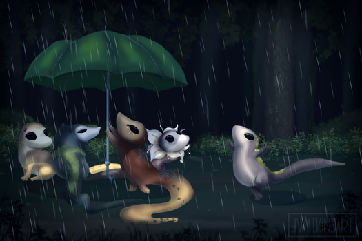 Rainy Day by JWatkinsArt