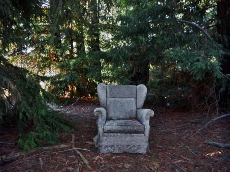 Ghost Chair with Orb by MatureContntFilterOn