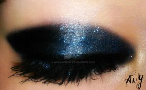 Blue Eye Make Up by AnyRainbow