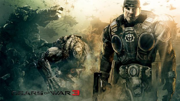 Gears of War 3 Contest Entry by tcdehoyos