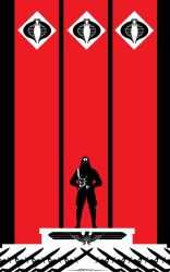 Cobra Commander Hail Cobra by Tom Kelly by TomKellyART