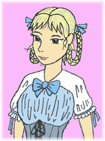 Melian Lolita Id With Pink Bacground by Magictron3000