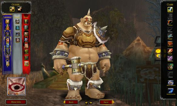 Custom WoW Race: Ogre by TheWabbajackX