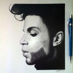 Prince Drawing - Tribute by LethalChris