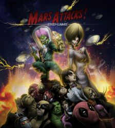 MARS ATTACKS KILL THE COMICS UNIVERSE by Vinz-el-Tabanas